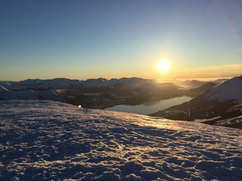 Sandhornet mot Ørstafjorden