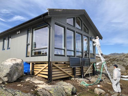 Maling på Haakonsbu