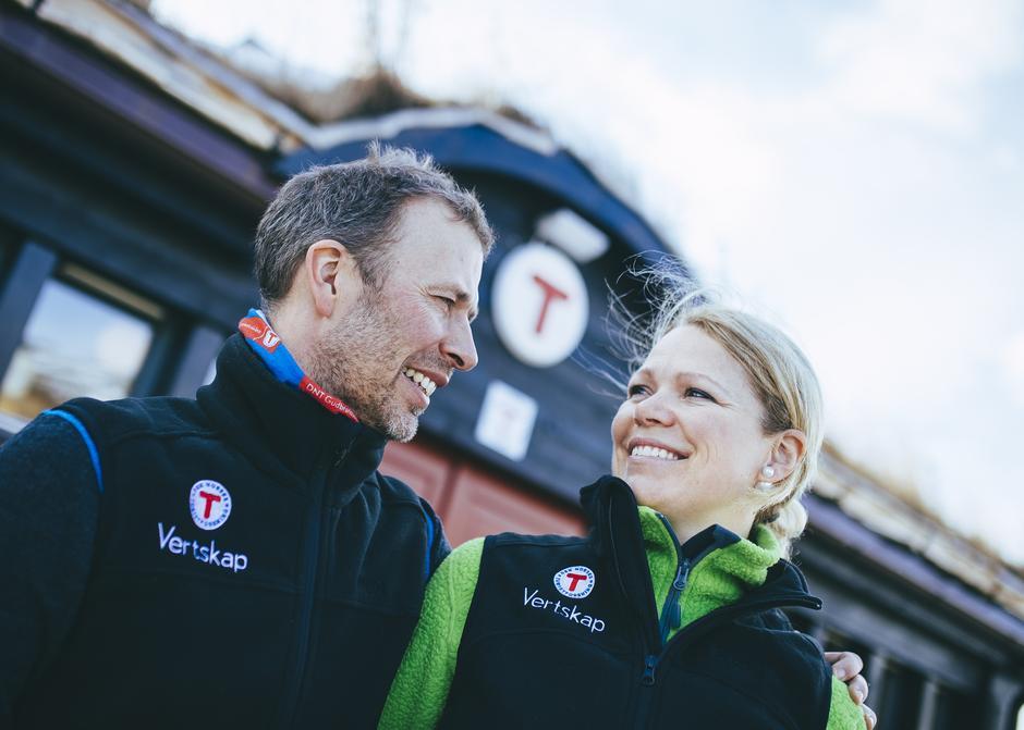 Rune Sundt og Sonja Rykhus er bestyrere på Grimsdalshytta fra vintersesongen 2016