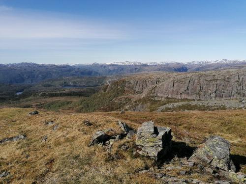 Utsikt frå Vikestølheia