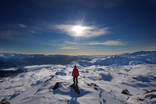 Fra Gullbotn til Raudnipa på ski