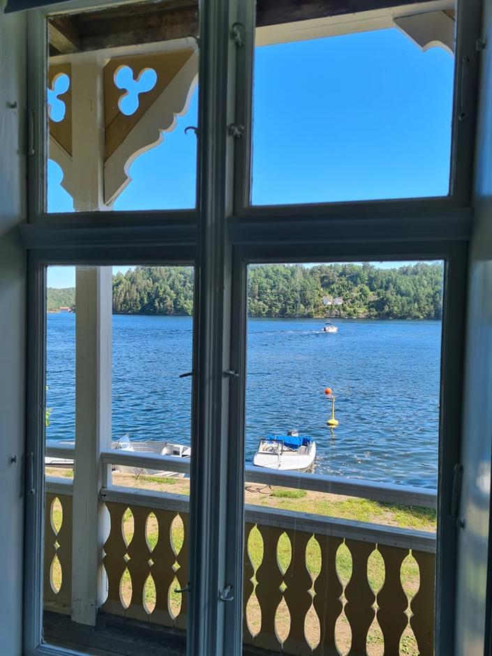 Utsikt fra Gjestehuset