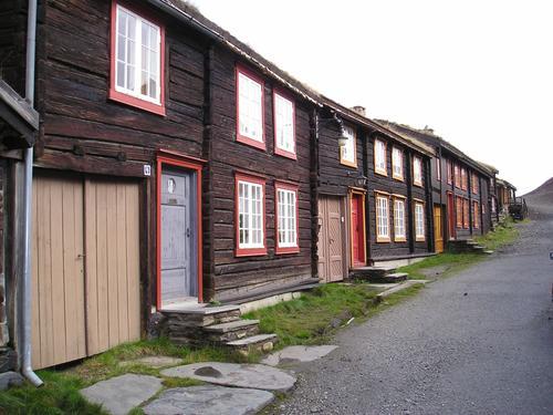 Gate i røros Foto: Sven A. Gulliksen