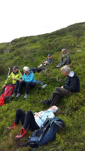 Turrapport Gammelhans og Prestkjerringa fra nord 17. juli