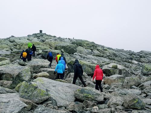 På veg til topps - Runderabben 1292 moh