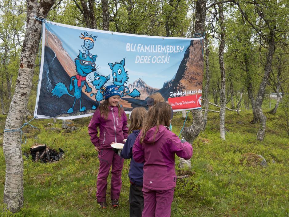 Noen av deltakerne på turen til Storbakkan