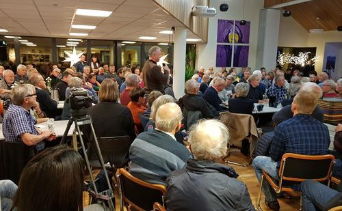 Engasjert folkemøte om vindkraft i Nordhordland