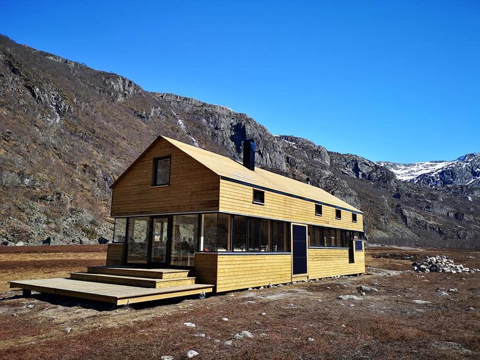 Den nye hytta i Viglesdalen er klar til bruk. Offisiell åpning er den 12 mai.
