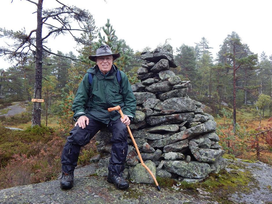 Yngvar Øigarden ved Ovnen i 2014.