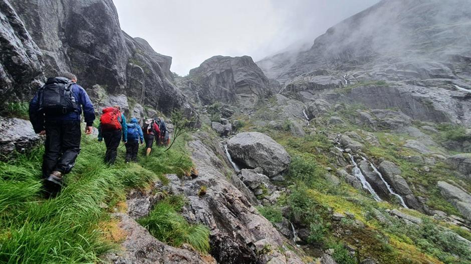 Fasinerande landskap i Skordalen