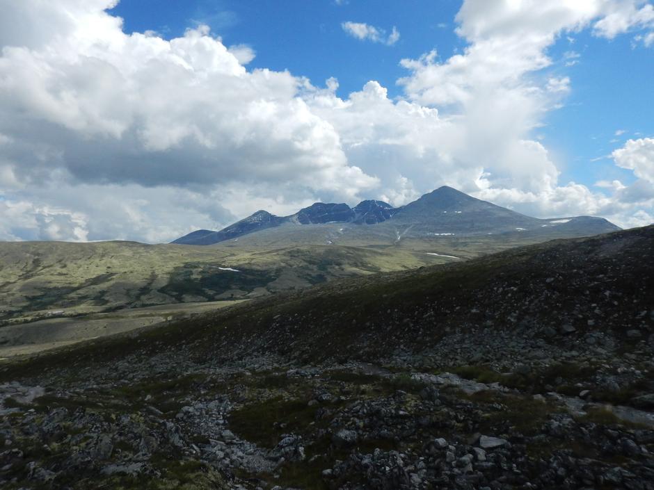 Utsikt mot Diger- Midt og Stor Ronden
