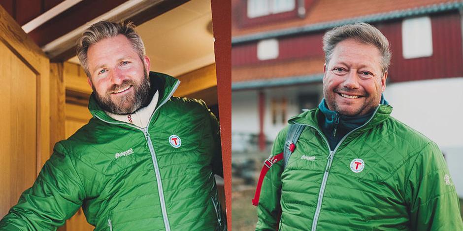 Styreleder, Thor Kamfjord og daglig leder, Jon Atle Holmberg.