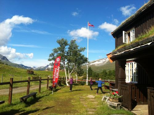 Familiecamp på Jøldalshytta