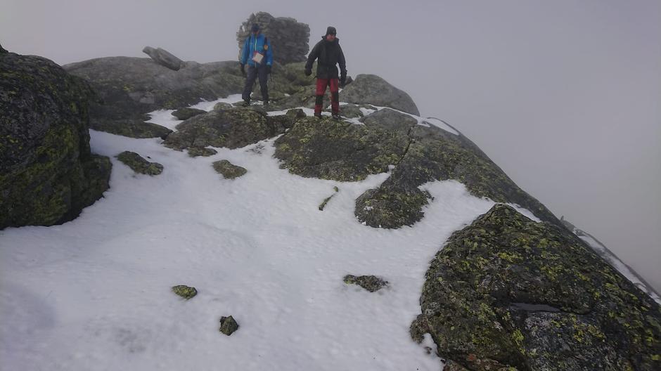 Snønuten 1604 moh.