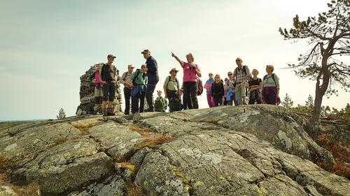 Seniortur til Blefjell