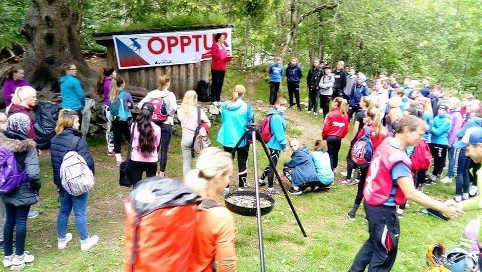 07.06.2017 - Opptur for 8-klassingane på Stryn Ungdomsskule