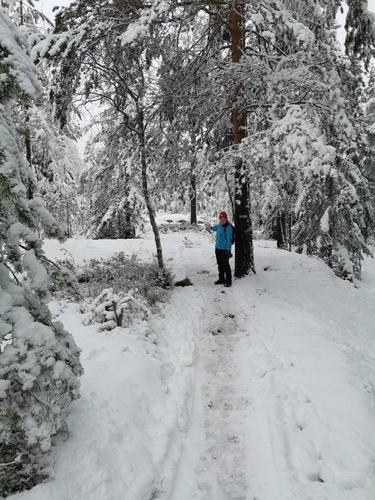Første vintertur i 2020