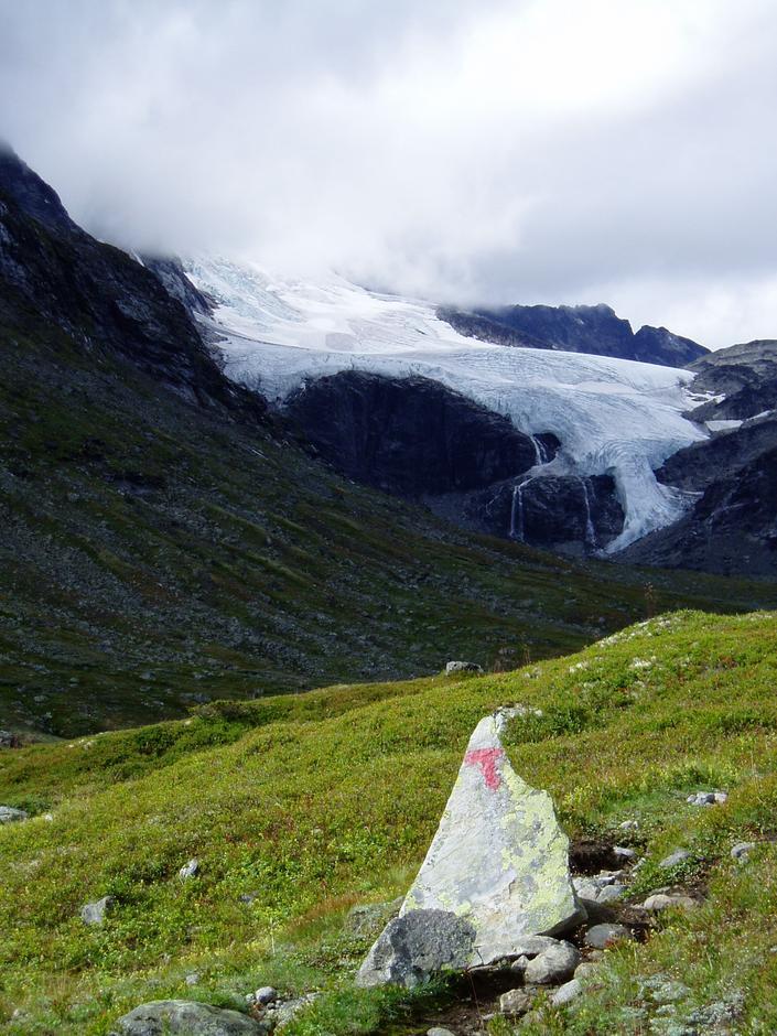 Mellom Skogadalsbøen og Fannaråken. Foto. Hilde Løken Magnussen