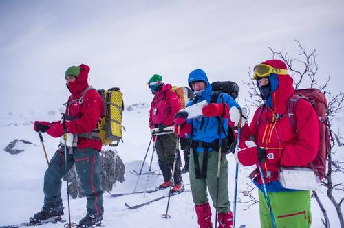 Vinterturlederkurs på Gappohytta