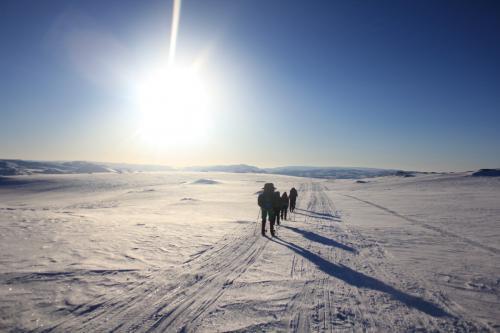 Påsketur på Hardangervidda 2013