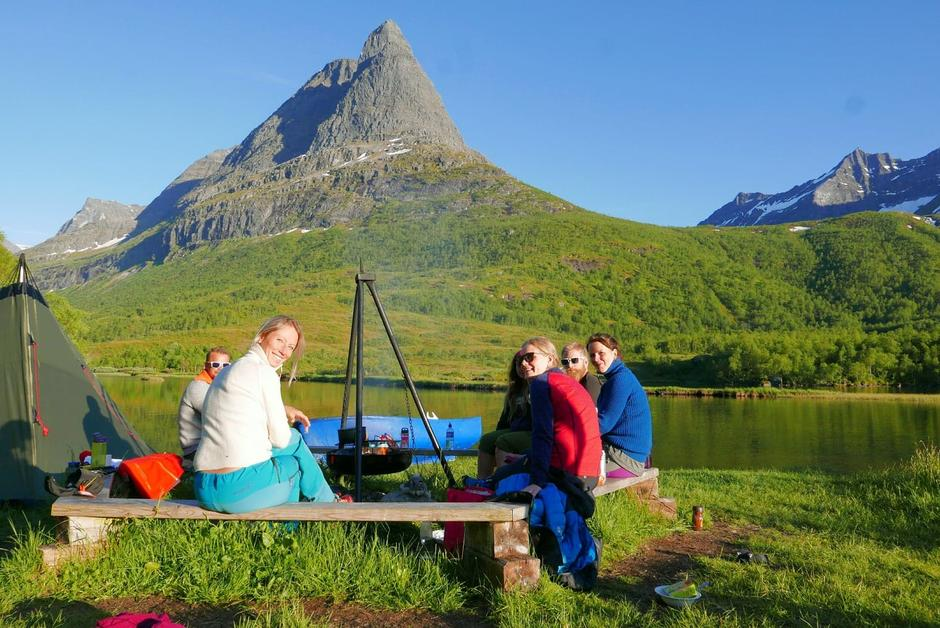 Kvalitetstid for voksne på familietur, Base Camp Innerdalen