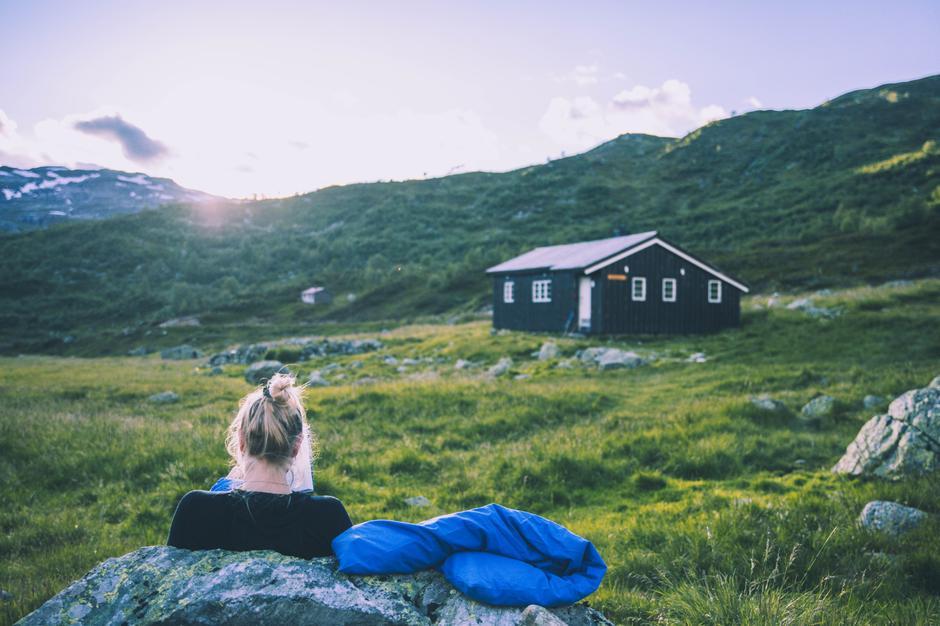 Middalsbu på Hardangervidda.