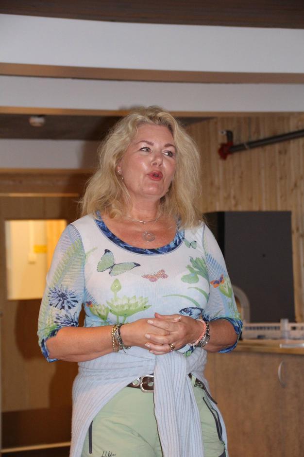 Nina Monssen fra hytteforeningen.