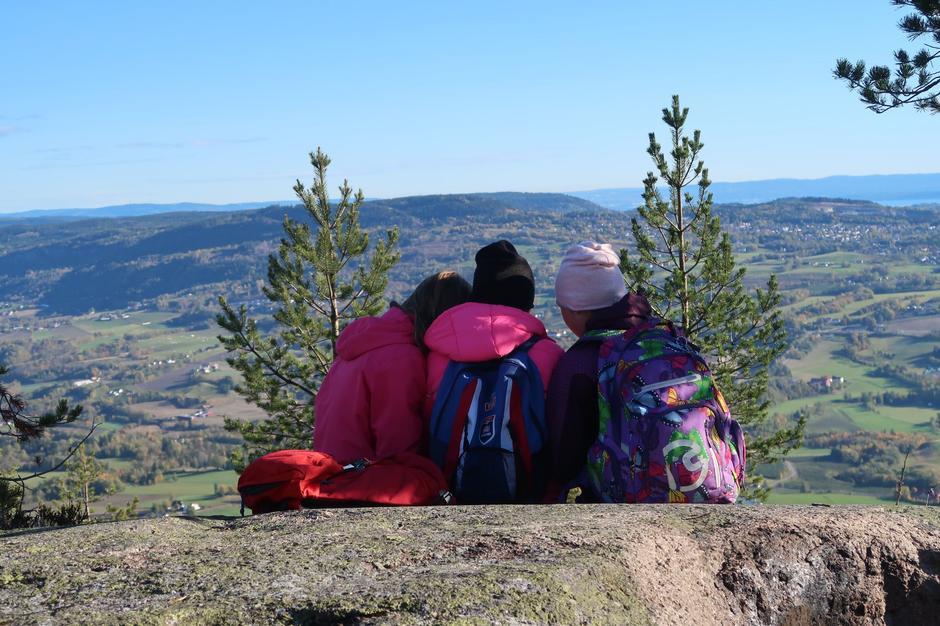Gode venner på tur til Storsteinsfjell