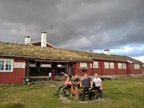 Dugnadsgjeng på Storerikvollen sept 2018