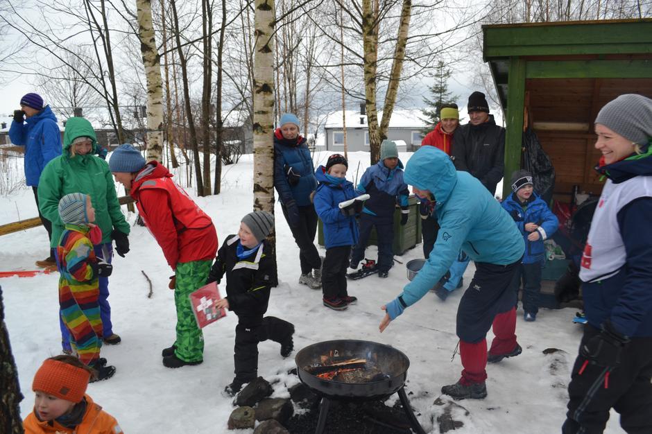 Kom deg ut-dagen vinter 2016, Ekrombakken Lillehammer