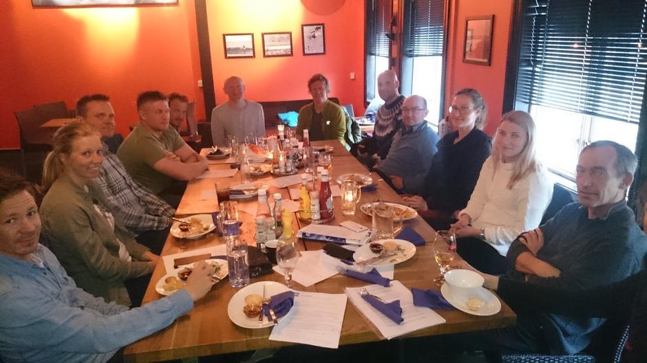 Fellesmøte (Styret og komiteer) med Fjellsportgruppa i Troms Turlag 10. mai på Cafe Flyt.