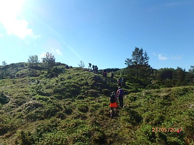 Fin dag i Nordhordland
