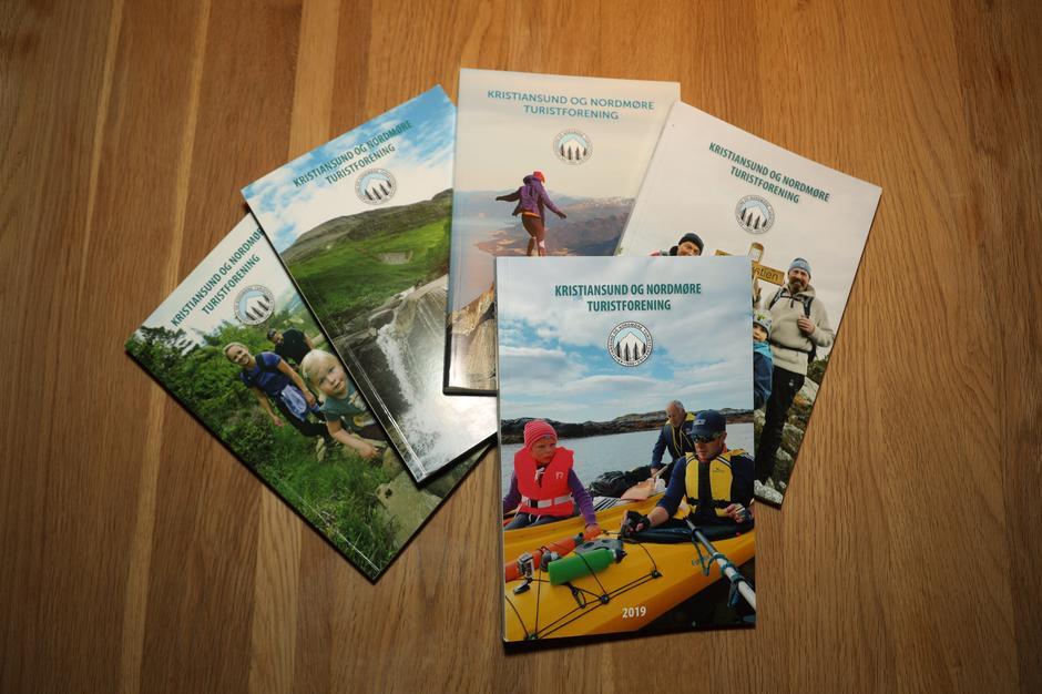 Årbøker fra Kristiansund og Nordmøre Turistforening