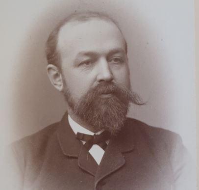 Hagbarth Thisted i 1889, 42 år gammel.