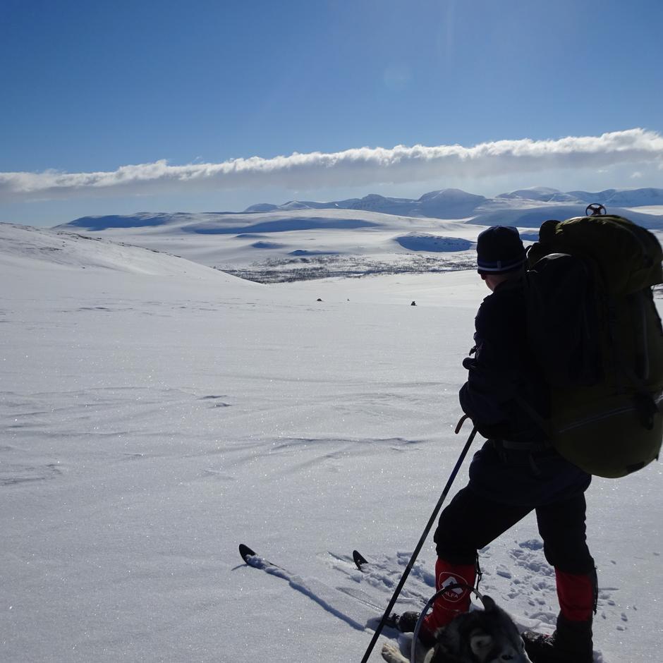 Nord-Troms Turlag har fellesturer gjennom hele året. Her fra tur til Golda.