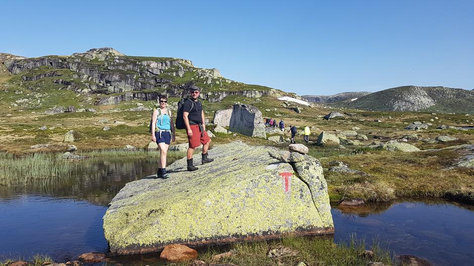 På vei til Urdalsknuten 1404 moh