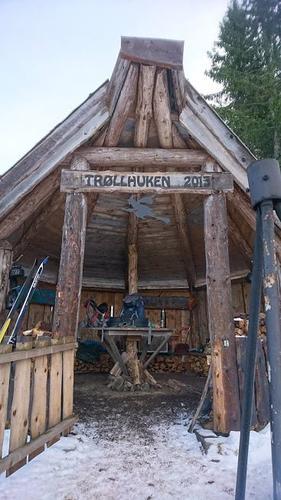Trollkjerka, Minneåsen