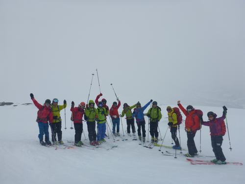 DNT fjellsport Bergen godt representert på årsmøtet i Bodø