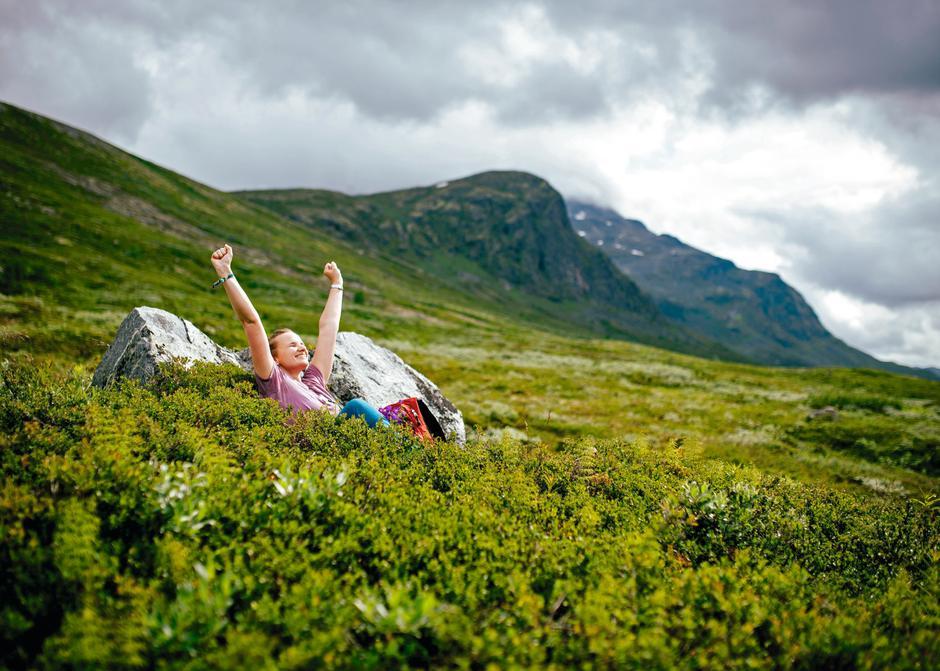 Sommeren er langt i fra over. Få lykkefølelsen i den norske fjellheimen, som her i Rondane.