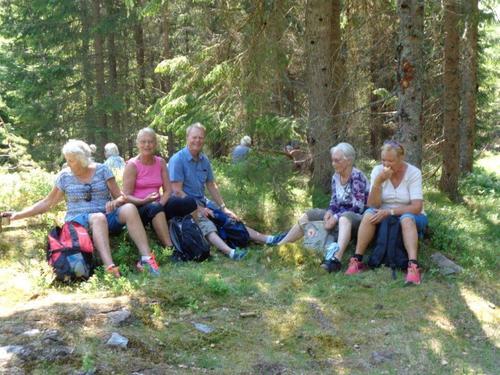 Seniortur til Langevann