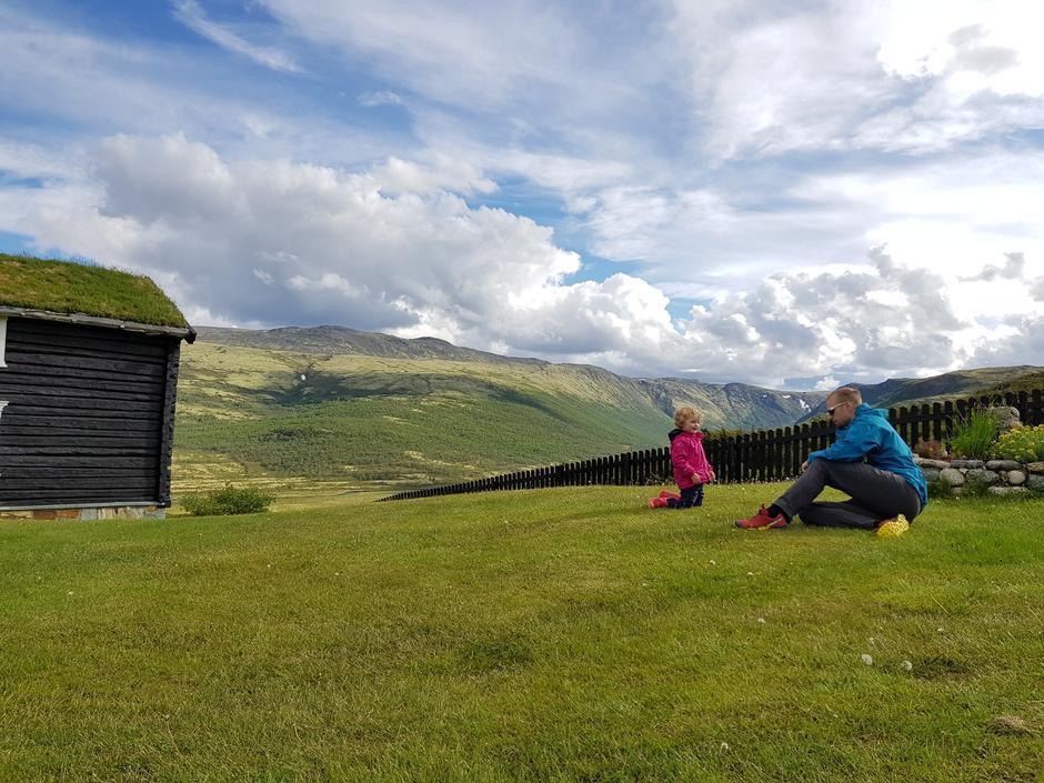 Grimsdalshytta på grensen mellom Rondane/Dovre.