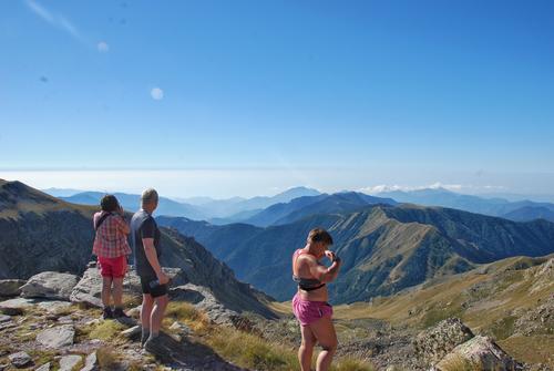Fottur til Mercantour nasjonalpark i Frankrike august 2017