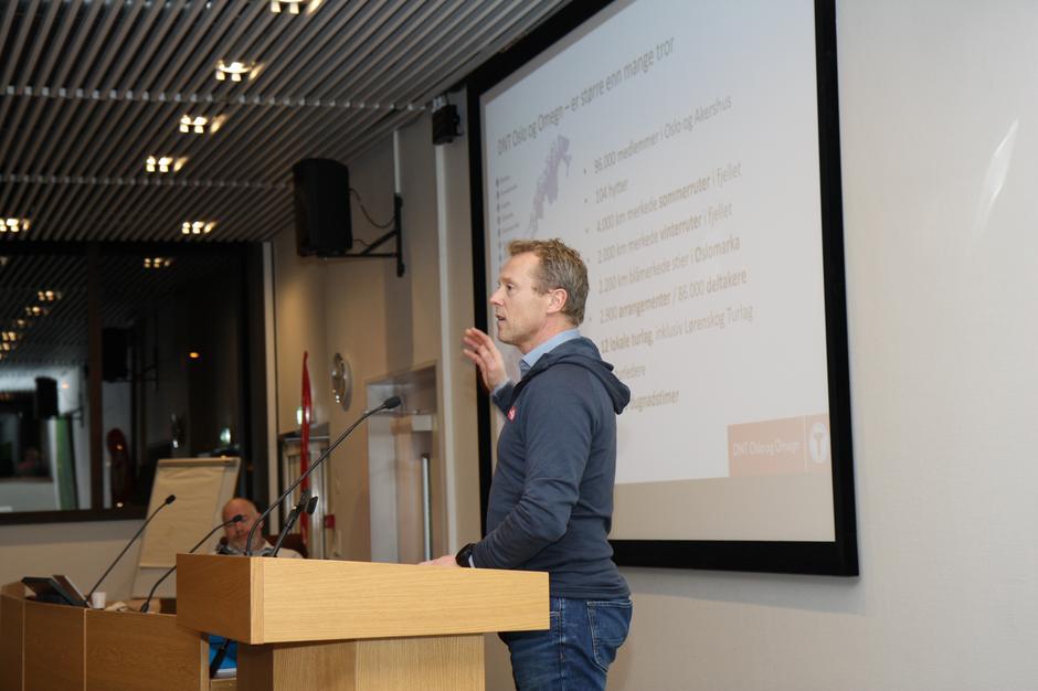 Henning Hoff Wikborg fra DNT Oslo og Omegn
