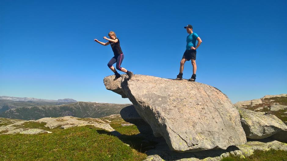 Ungdommen utfordra til hoppekonkurranse på veg mot Avestølen