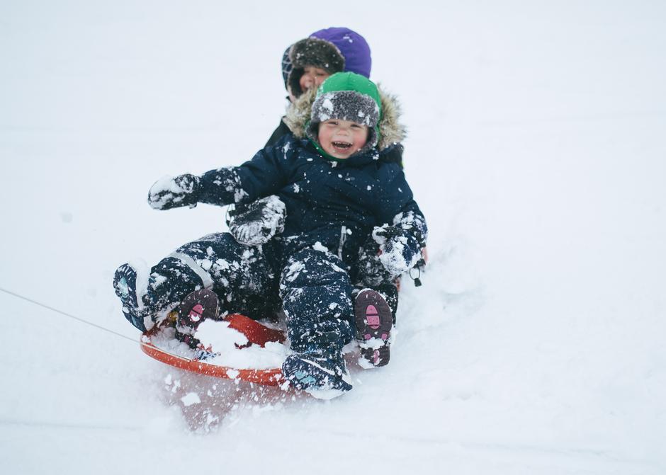 UT PÅ TUR:  Vi har tilbud til store og små i vinterferieuka.