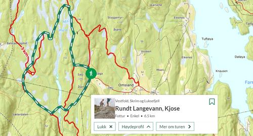 Ukas Turtips (16) - Rundt Langevann i Kjose