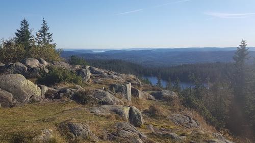 Gyrihaugen - utsikt sydover