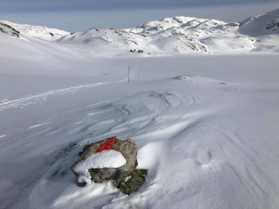 20. Feb 2019 Heiberg Storevatn i bakgrunn. Som en ser er det  mer snø enn på bildet ovenfor og gode forhold.