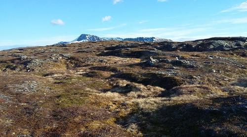 På topp på Ringvassøya