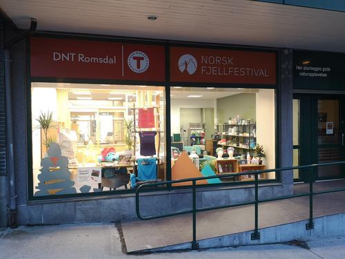 Vårt lokalkontor på Åndalsnes flytter inn i nye lokaler
